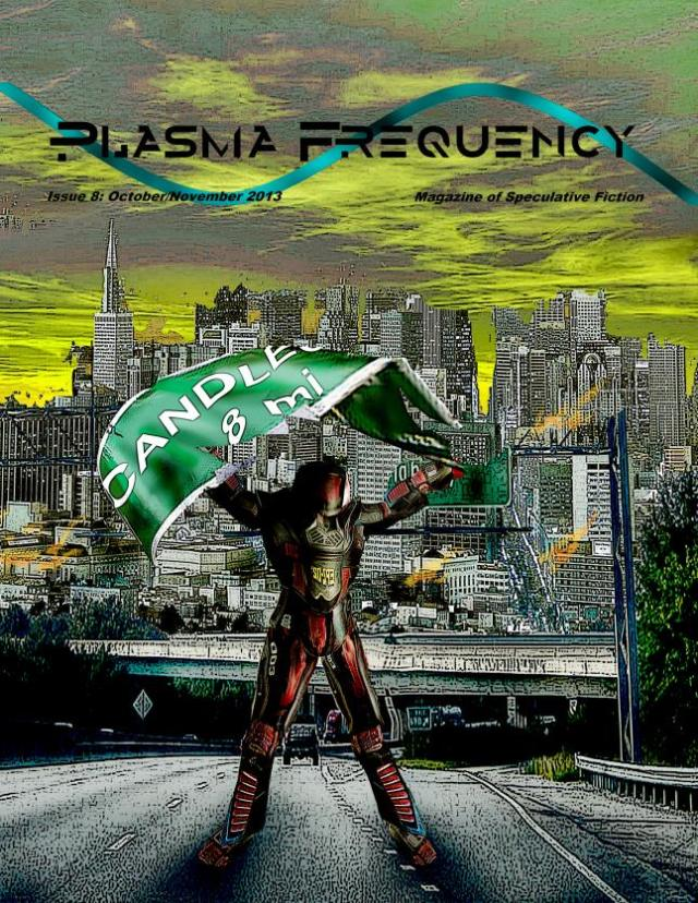 Plasma Frequency Magazine Issue 8 Cover
