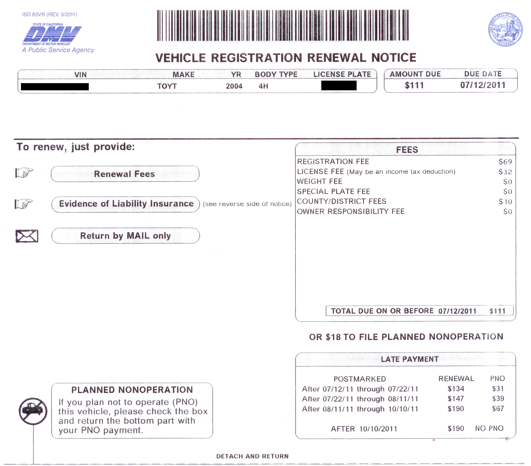 Pay Car Registration Online Ca