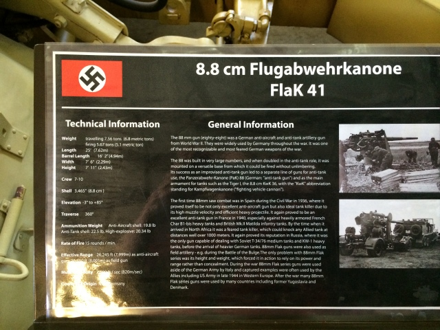 German 88mm Information