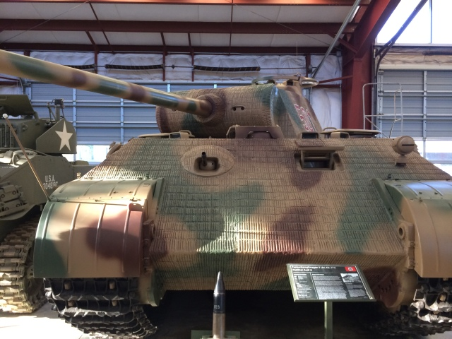 Panther Tank Front