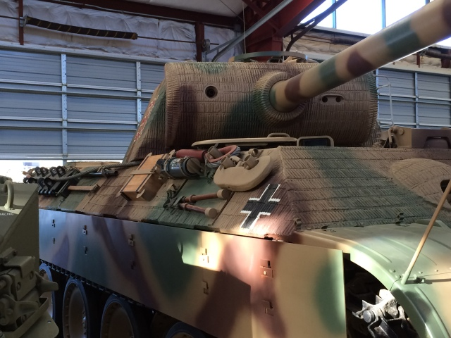 Panther Tank Left Front