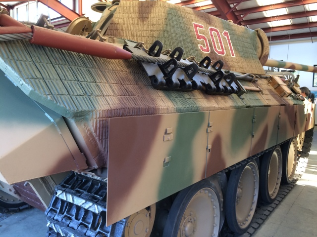 Panther Tank Right Rear