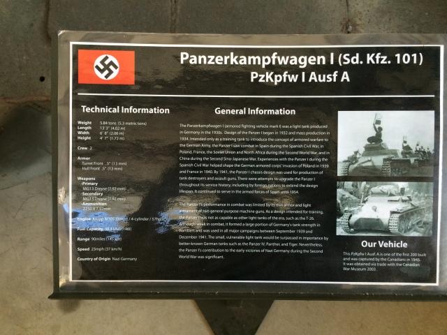 Panzer I Information