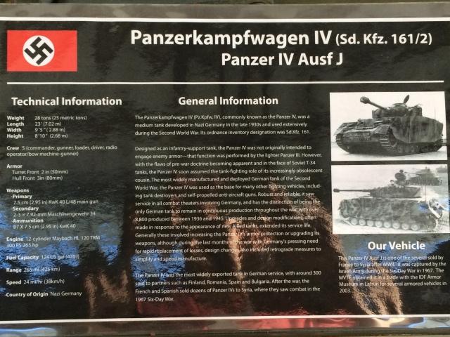 Panzer IV Information