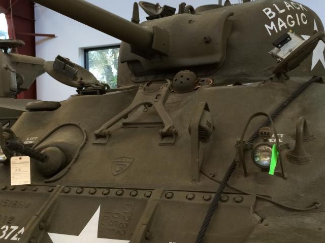 Sherman Tank Front