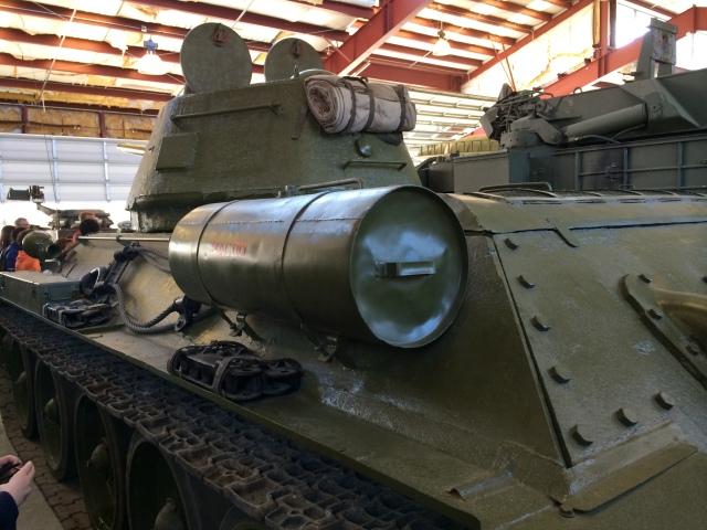 T-34 Left Rear