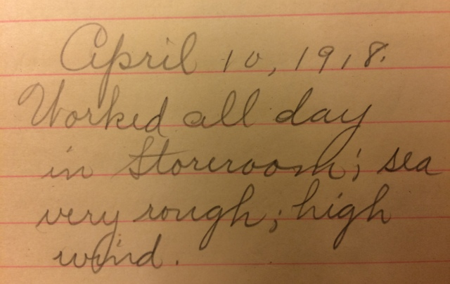Source: C. Gilbert Hazlett, April 10, 1918