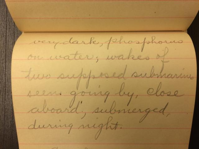 Source: C. Gilbert Hazlett, April 12, 1918