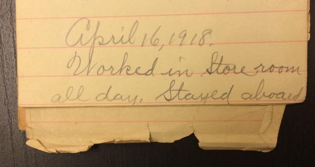 Source: C. Gilbert Hazlett, April 16, 1918