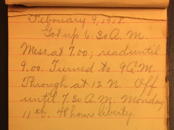 Source: C. Gilbert Hazlett, February 9, 1918