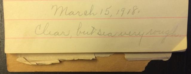 Source: C. Gilbert Hazlett, March 15, 1918